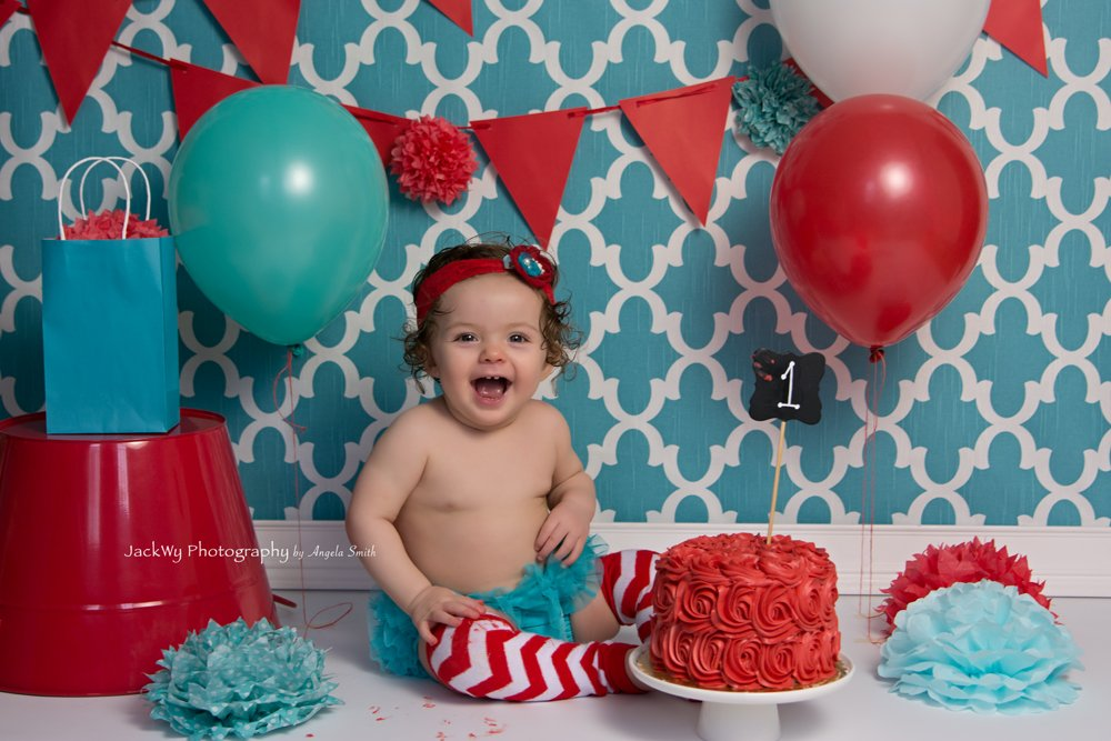 Alaya {Cake Smash/1 year}