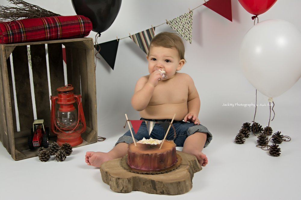Cade {1 Year & Cake Smash}