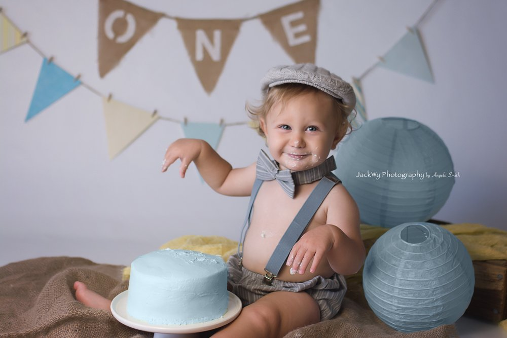 Rutledge {1 year & cake smash}