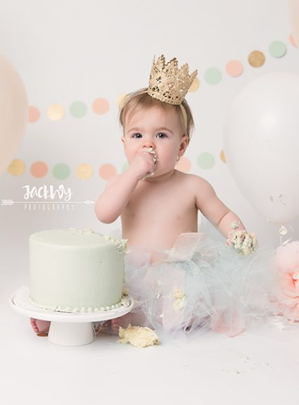 Amelia {1 year & cake smash}