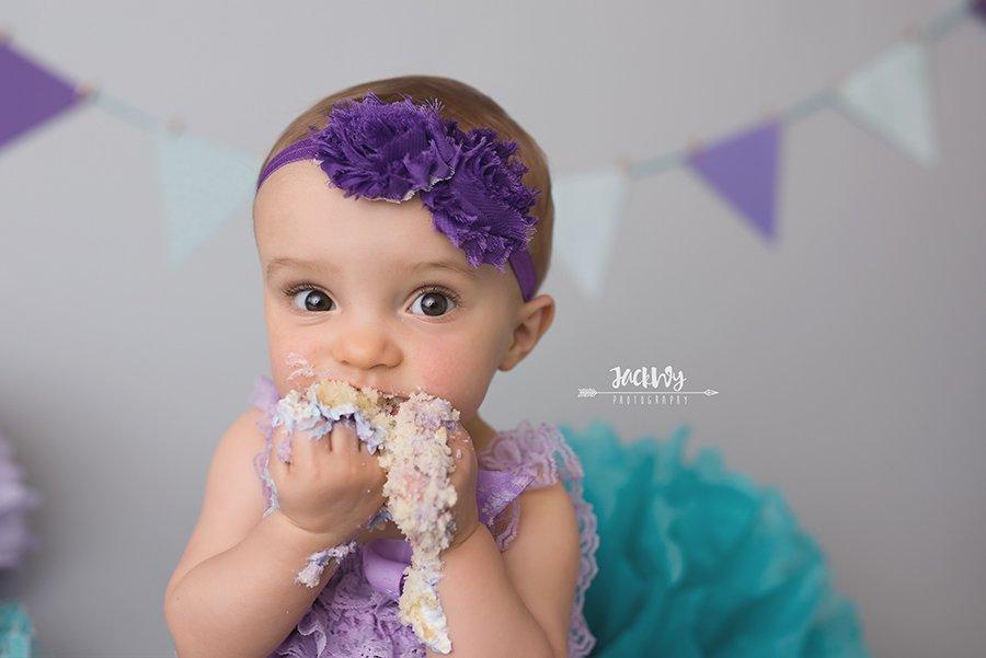 Natalie {1 yr & cake smash}