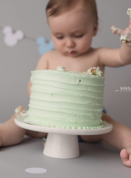 Logan {1 year & cake smash}