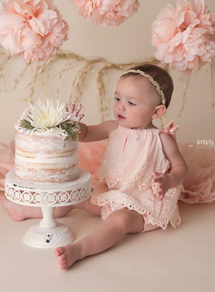 Harper {1 year cake smash}