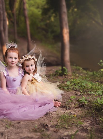 Reagan & Kinsley {Woodland Fairy}