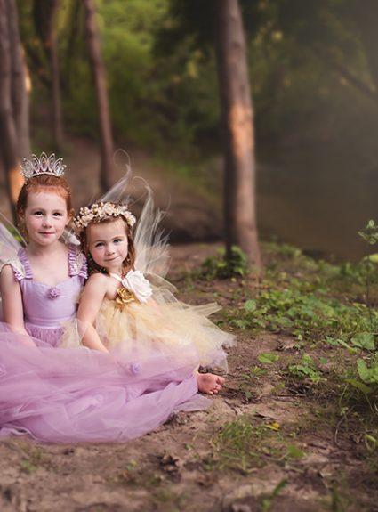 Reagan & Kinsley {Woodland Fairy}