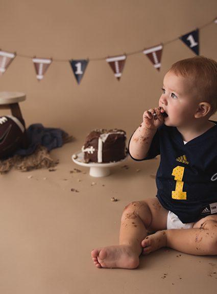 Brayden {one year & cake smash}