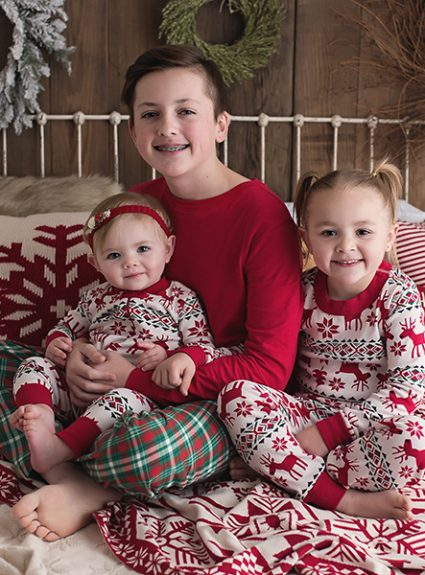 Kiefer {christmas pj mini}