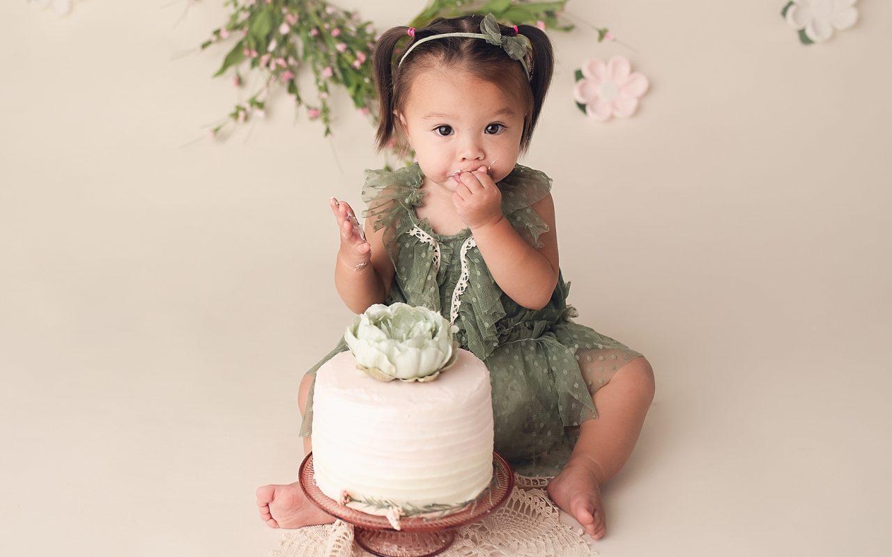 Hayden {one year cake smash}