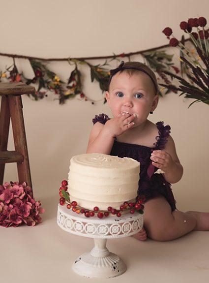 Raegan {1 year cake smash}