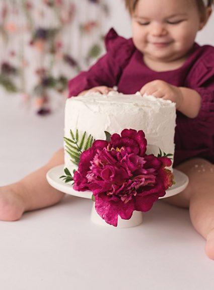 Quinn {1 year & cake smash}