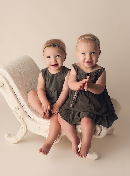 Claire & Kinsley {one year}